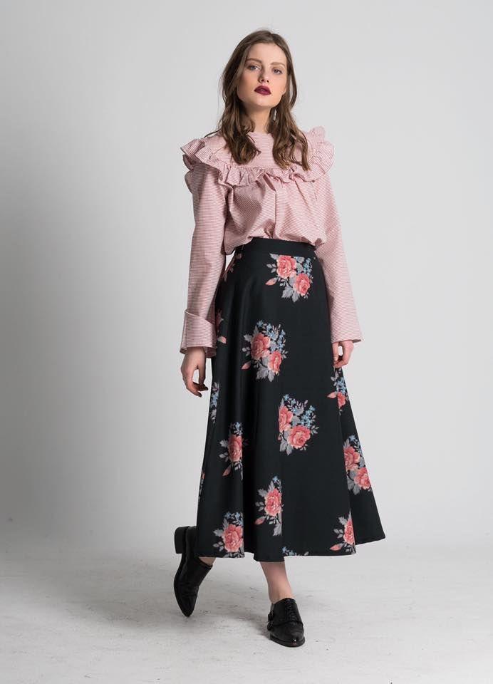 """〰〰2nd day〰〰 """"REBECKA"""" mixi skirt on SUPER SALE , only for 24 hours!! 〰〰 inbox us for details. #karavan #karavanclothing #karavangirl"""
