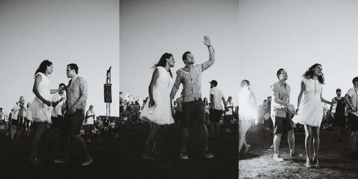 triple photos of dancing during a concert #taralillyphotography