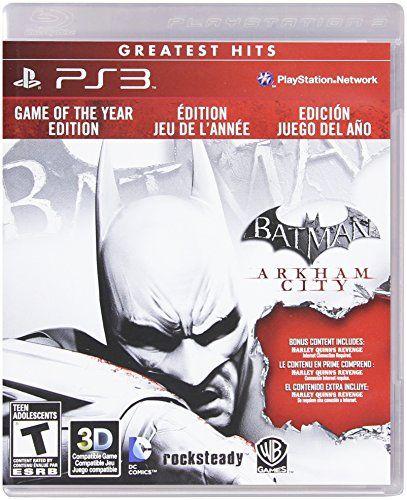 News Batman: Arkham City - Game of the Year Edition, PS3   buy now     $14.51 Developed by Rocksteady Studios, Batman: Arkham City builds upon the intense, atmospheric foundation of Batman: Arkham Asylum,... http://showbizlikes.com/batman-arkham-city-game-of-the-year-edition-ps3/