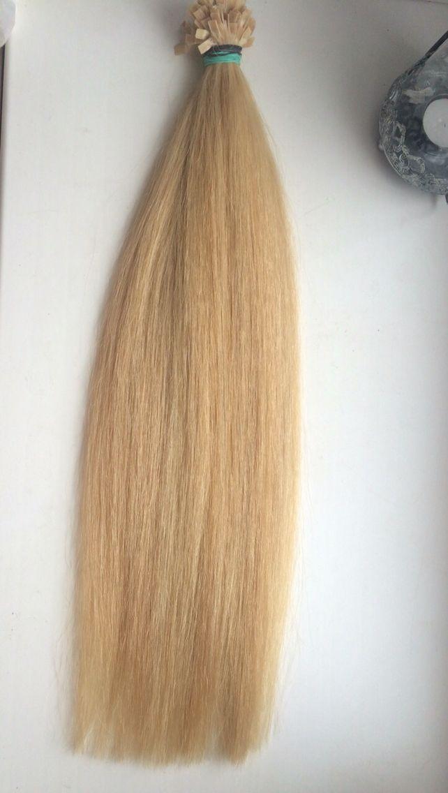 Золотистый блонд 100 грамм , 55 см, закапсулированный  Цена 220 €  Slavic Haar, 55 cm/100 gr / 100 str. Preis: 220€