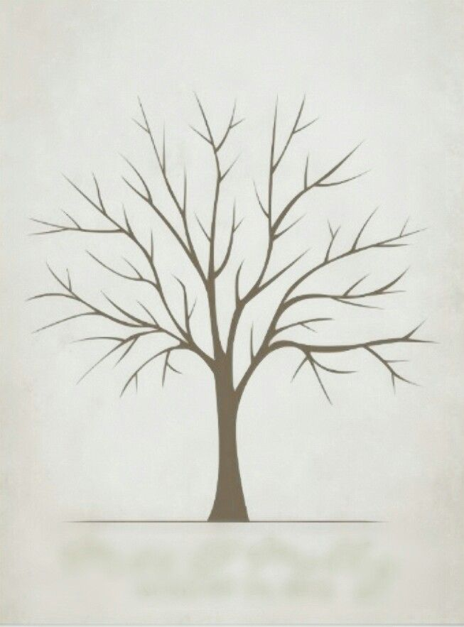 Image result for simple bare tree drawing