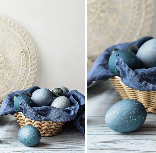 Как покрасить яйца к Пас…