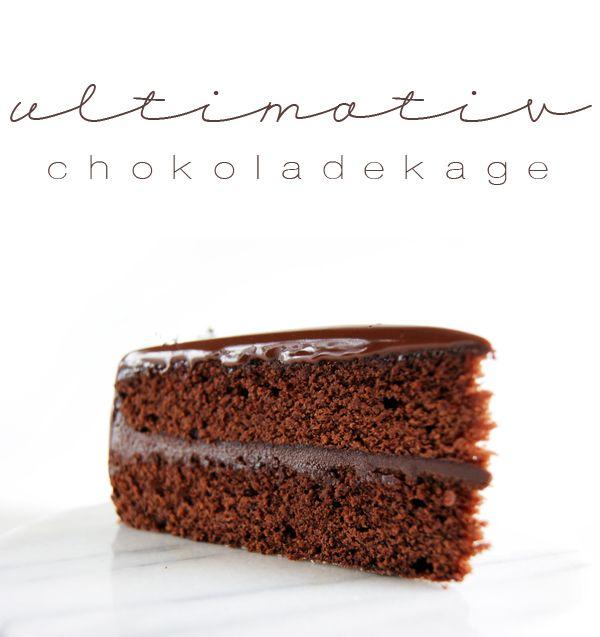 Madblogger Udfordringen #2: Ultimativ Chokoladekage