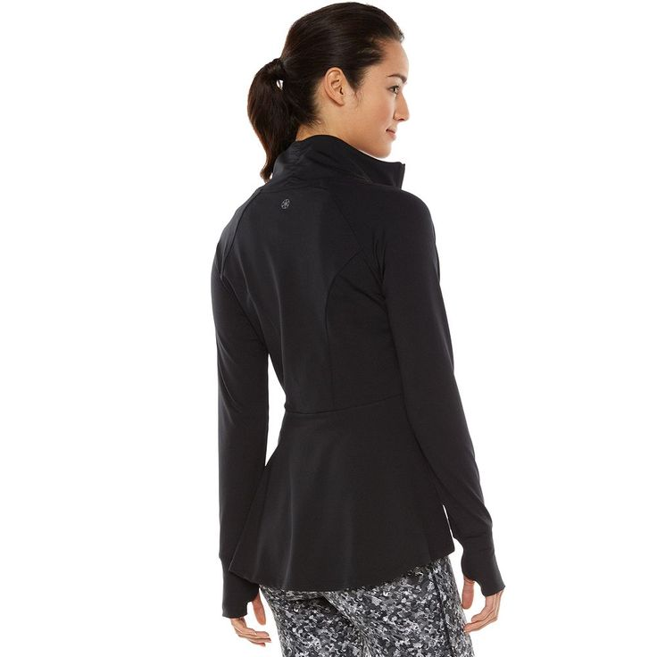 Love This Gaiam Energy Full Zip Yoga Jacket Which Blends