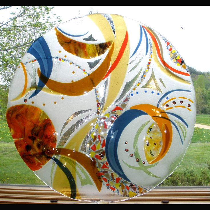 Fused Glass Art, Architectural Sculptures - Bonnie Rubinstein Studio - Minneapolis, Mn