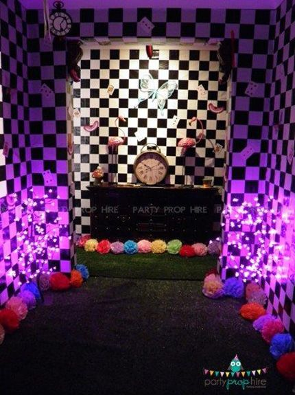 Mad Hatter Tea Party Decorations   Wonderland Themed Party by Party Prop Hire - Pictures - Photos - Ideas ...