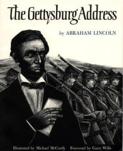 The Gettysburg Address by Abraham Lincoln Speech (Lyrics) by Abraham Lincoln Music by Mrs. Patel's 6th Grade Class (Woodmere Elementary Scho...