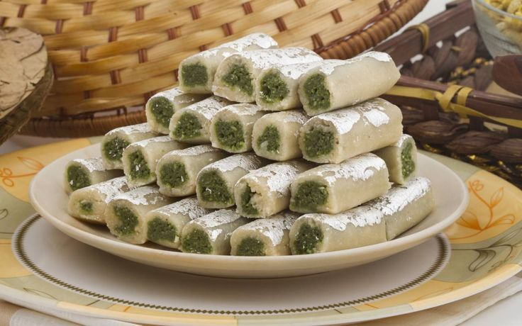 Kaju Pista Roll Recipe (Cashew Nut Pistachio Fudge)