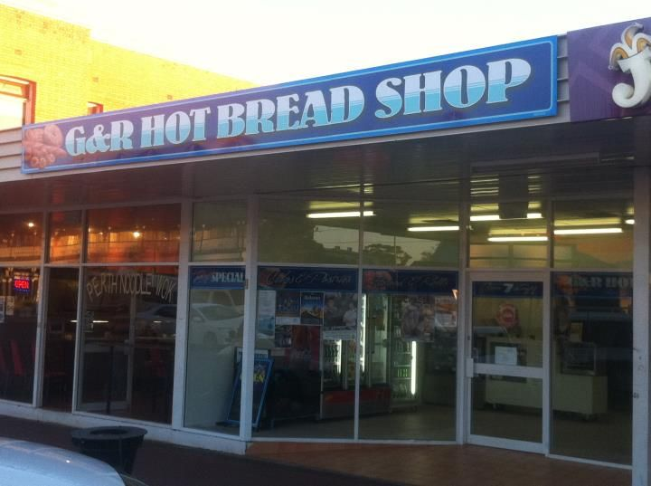 G & R Hot Bread Shop, great local business with great service.