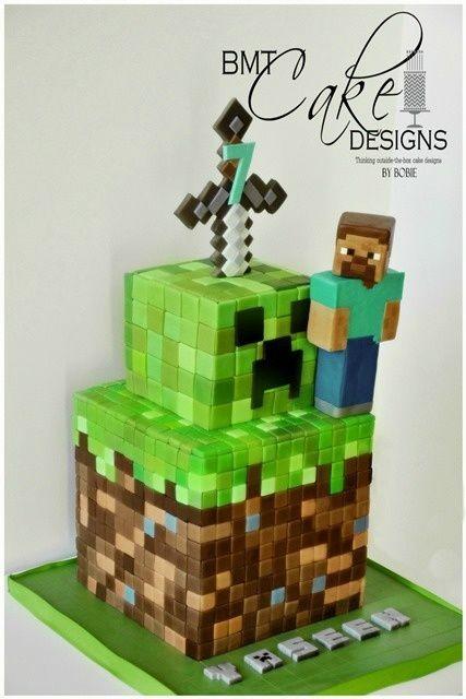 The Minecraft Cake - CakesDecor