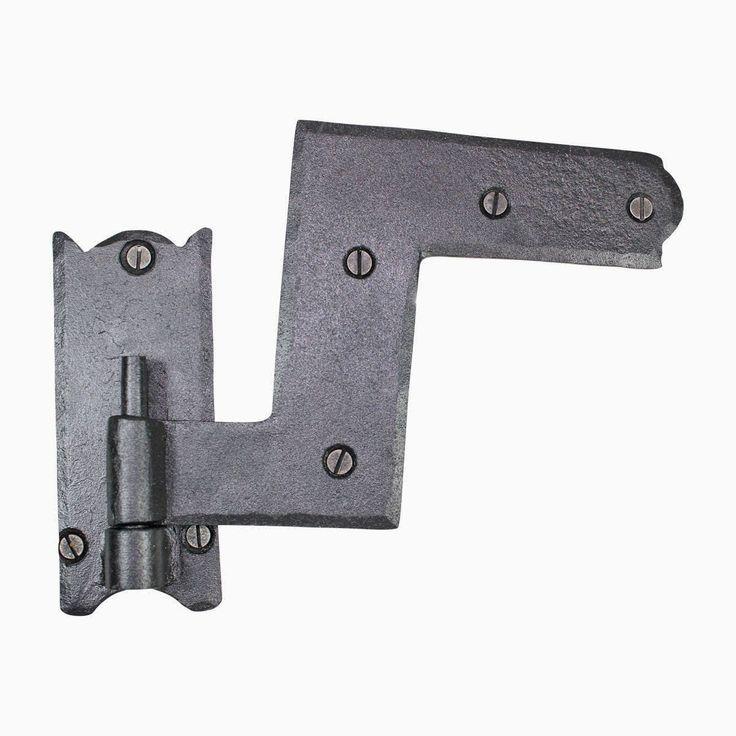Reversible Window Shutter Hinge Wrought Iron 4 (Renovator's Supply)