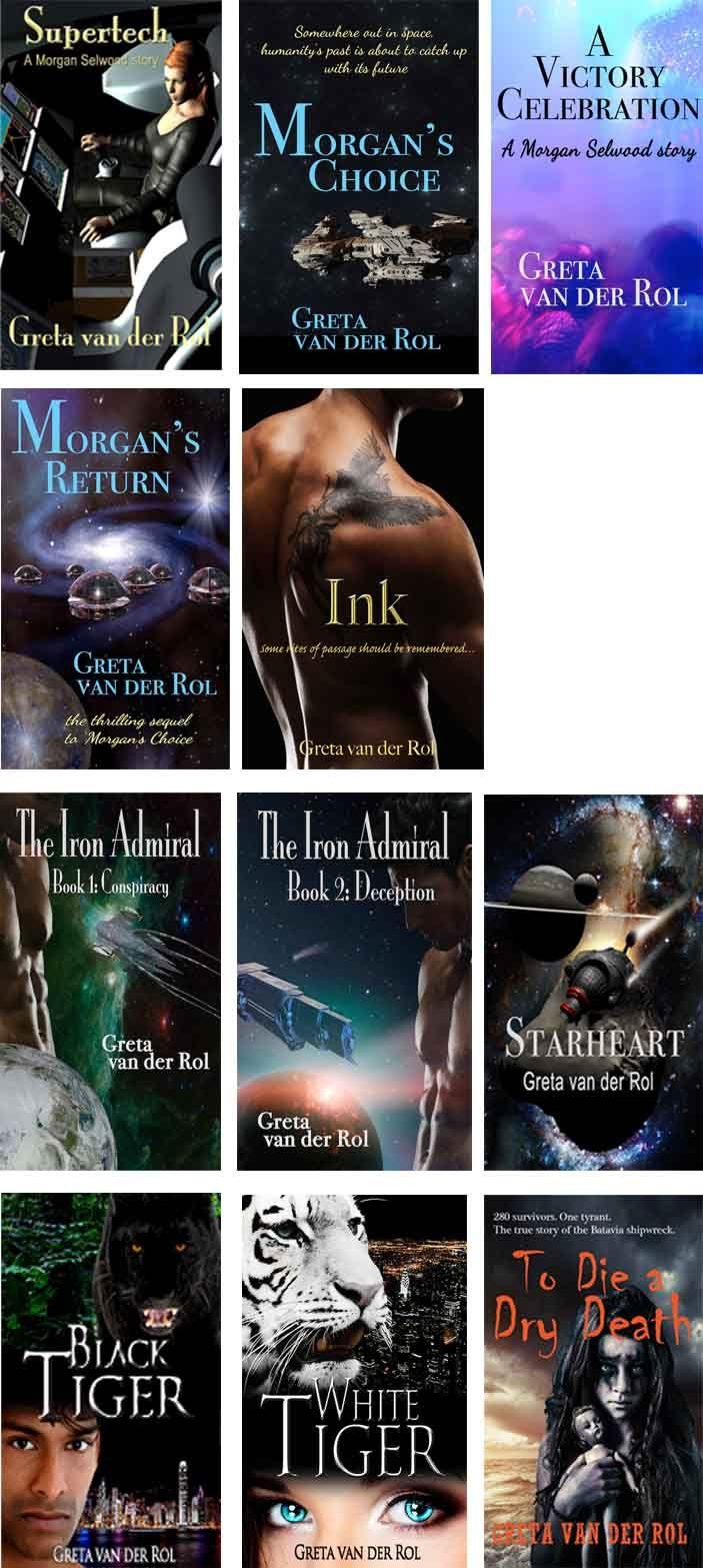 Greta van der Rol - Australian author of Science Fiction Romance and Paranormal Romance