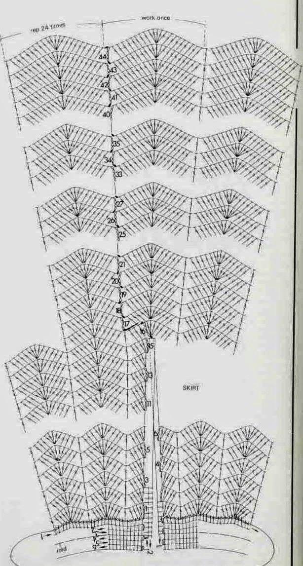 Crochê Meire: blusas