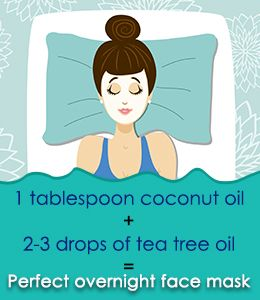 Natural Overnight Facial for healthy skin