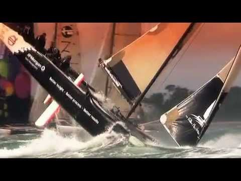 Best Of Caspize for six years! Extreme Sailing Series
