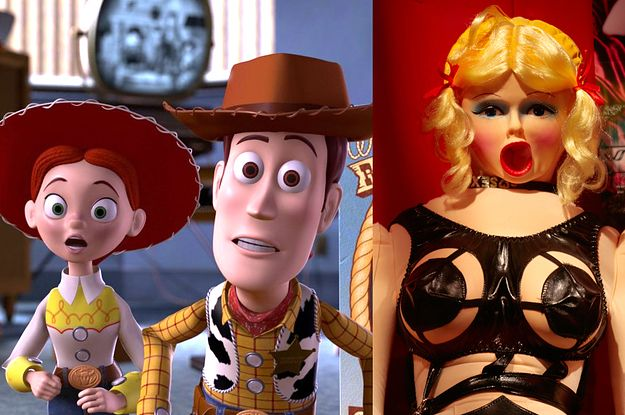 """Very Important Question: Are Sex Dolls Alive In The """"Toy Story"""" Universe?"""