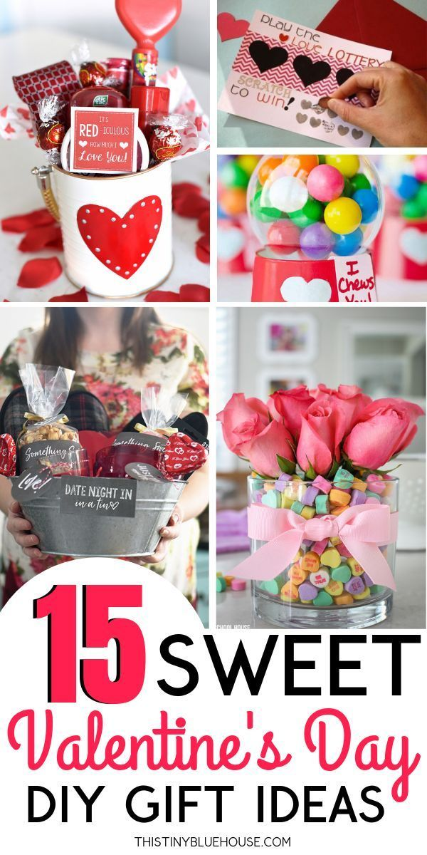 15 Crazy Adorable DIY Valentine's Day Gifts   Valentine's