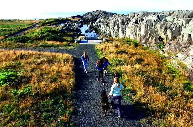 Leif Erikson Park Trail — 0.5km seaside trail in Cape Forchu, Nova Scotia