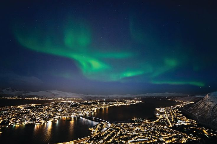 tromso northern lights - Google Search