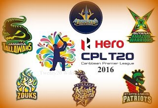 Cricket Lover: CPL 2016 Fixture and where to watch live, date, ti...