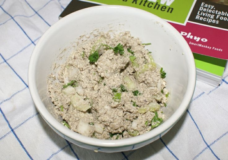 Raw tuna salad recipe #rawfood #rawfoodrecipes