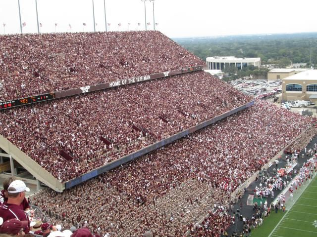 The 12 Best Destinations in College Football: Texas A&M University