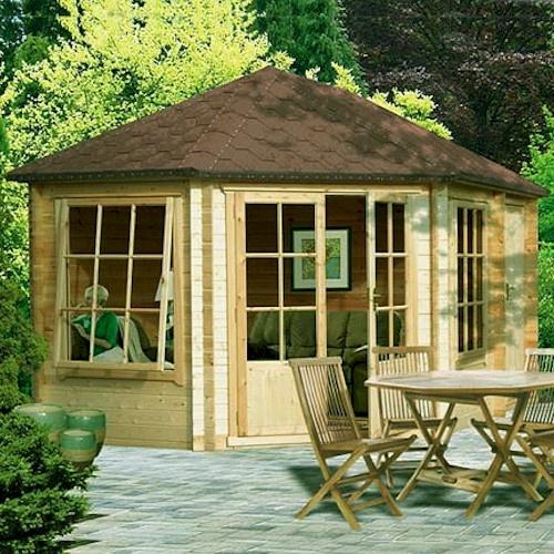 Best 25 Log Shed Ideas On Pinterest Log Cabin Sheds