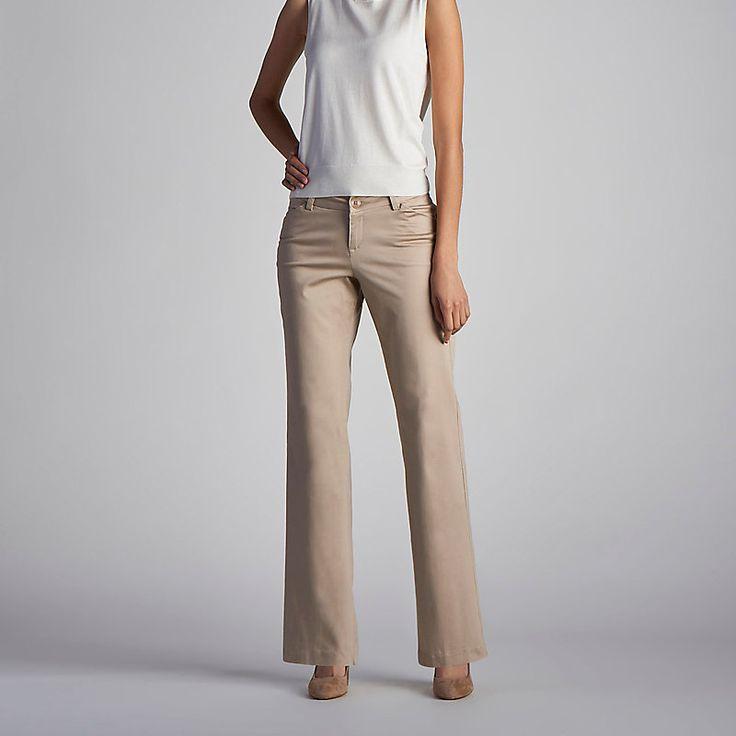 Lee Women's Curvy Fit Maxwell Trouser - Petite::10:SP Pants