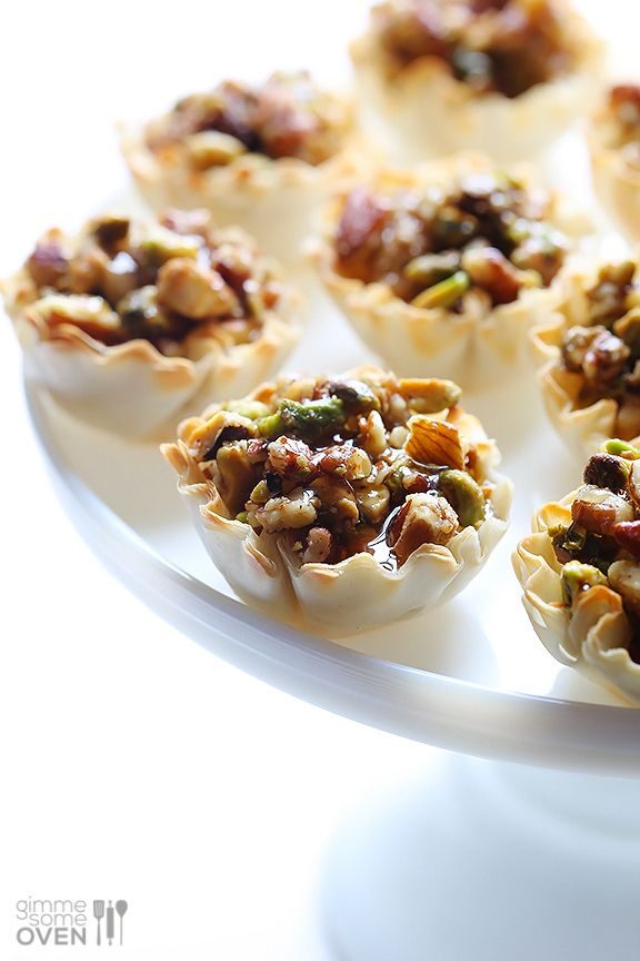 Baklava Cups | 19 Tiny Desserts You Can Eat In One Bite