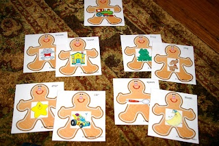 Here Comes the Gingerbread Man!  Tons of math and literacy centers (free!!)