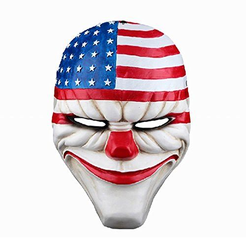 Online PAYDAY 2 Dallas Mask Heist Joker Costume Props Collection Cosplay Mask Sold By Bestlife * Visit the image link more details.