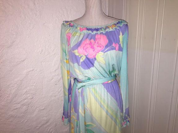 Vintage Leonard Paris kjole, vintage dress