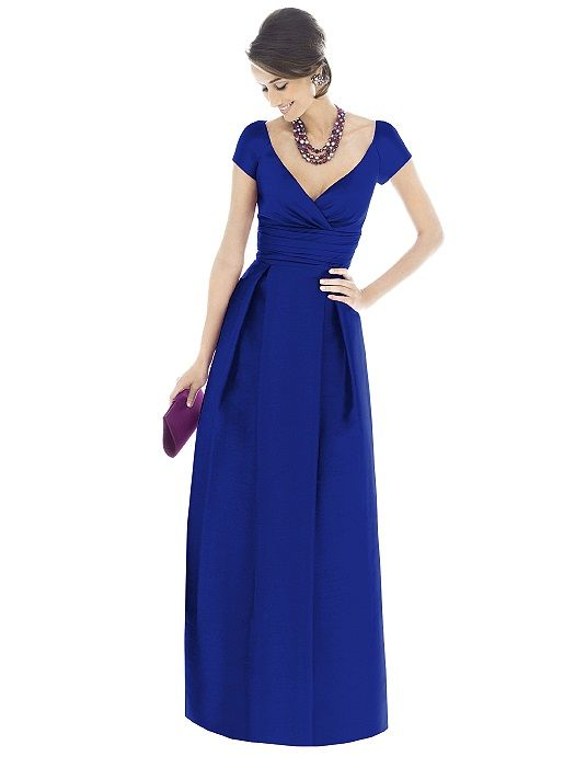 Alfred Sung Bridesmaid Dress D501