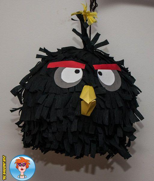 Piñata Angry Birds – knutselen