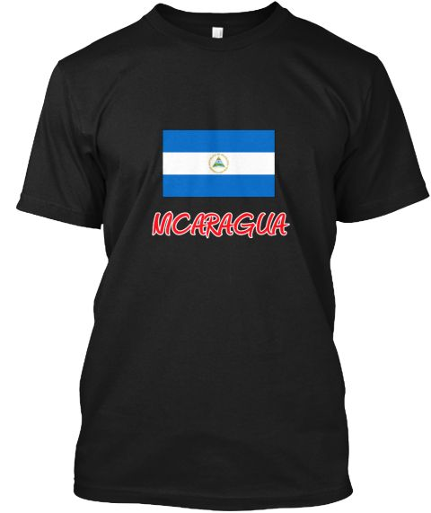 Nicaragua Flag Artistic Red Design Black T-Shirt Front - This is the perfect gift for someone who loves Nicaragua. Thank you for visiting my page (Related terms: I Heart Nicaragua,Nicaragua,Nicaraguan,Nicaragua Travel,I Love My Country,Nicaragua Flag, Nicaragua  #Nicaragua, #Nicaraguashirts...)