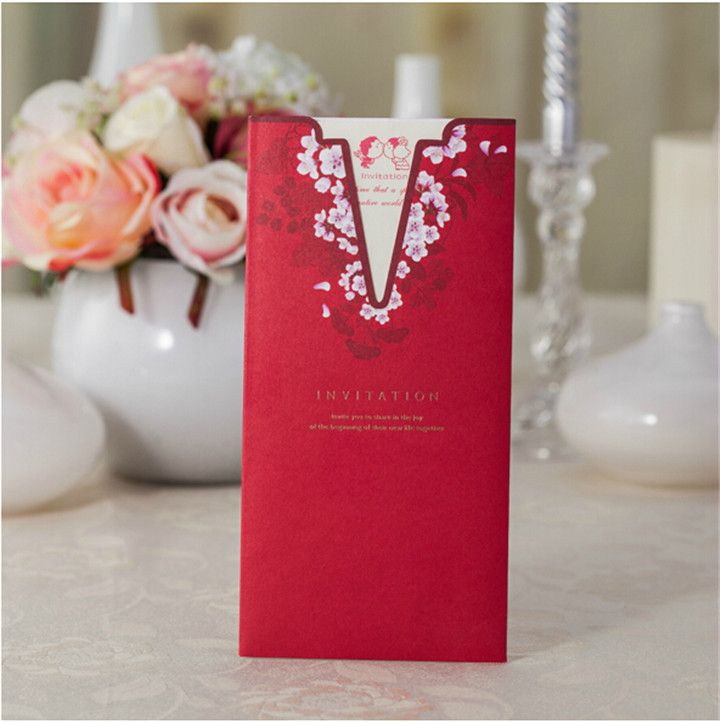 sample wedding invitation letter for uk visa%0A Cheap spring fasting  Buy Quality spring ubolt directly from China card  frame Suppliers  Chinese Style Wedding u    Party Invitation Cards Templates  Spring