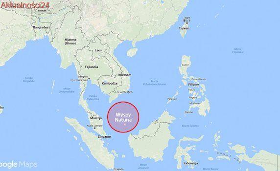 """Indonezja """"stworzyła"""" nowe morze"""