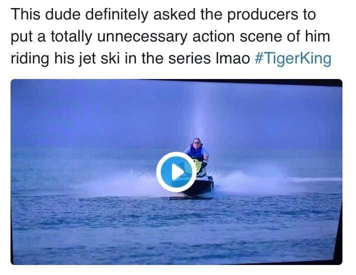Best Tiger King Memes In 2020 Jet Ski Tiger Skiing
