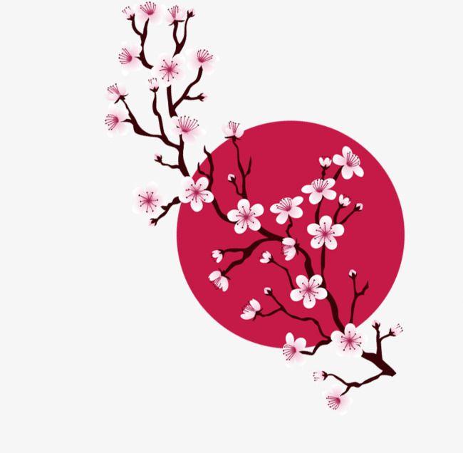 Image Associee Flor De Cerejeira Arte Estampas Japonesas Flor De Cerejeira Pintura