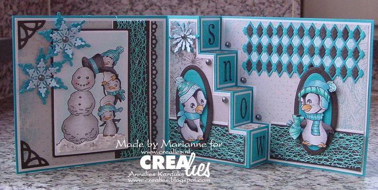 Crealies: Crealies Create A Card
