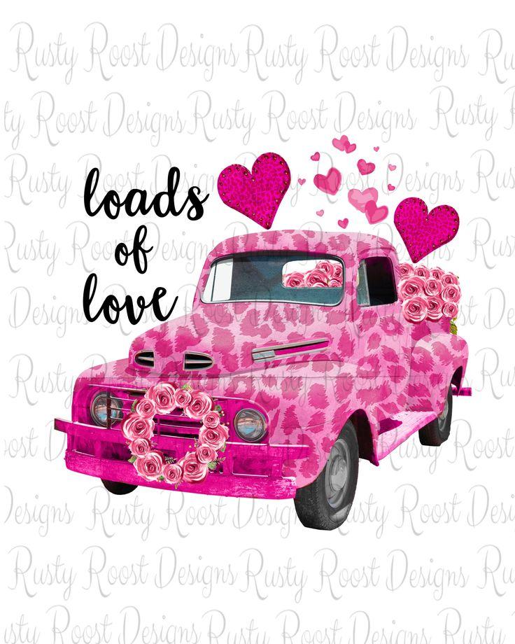 Download Loads of love png,Valentine sublimation download,digital ...