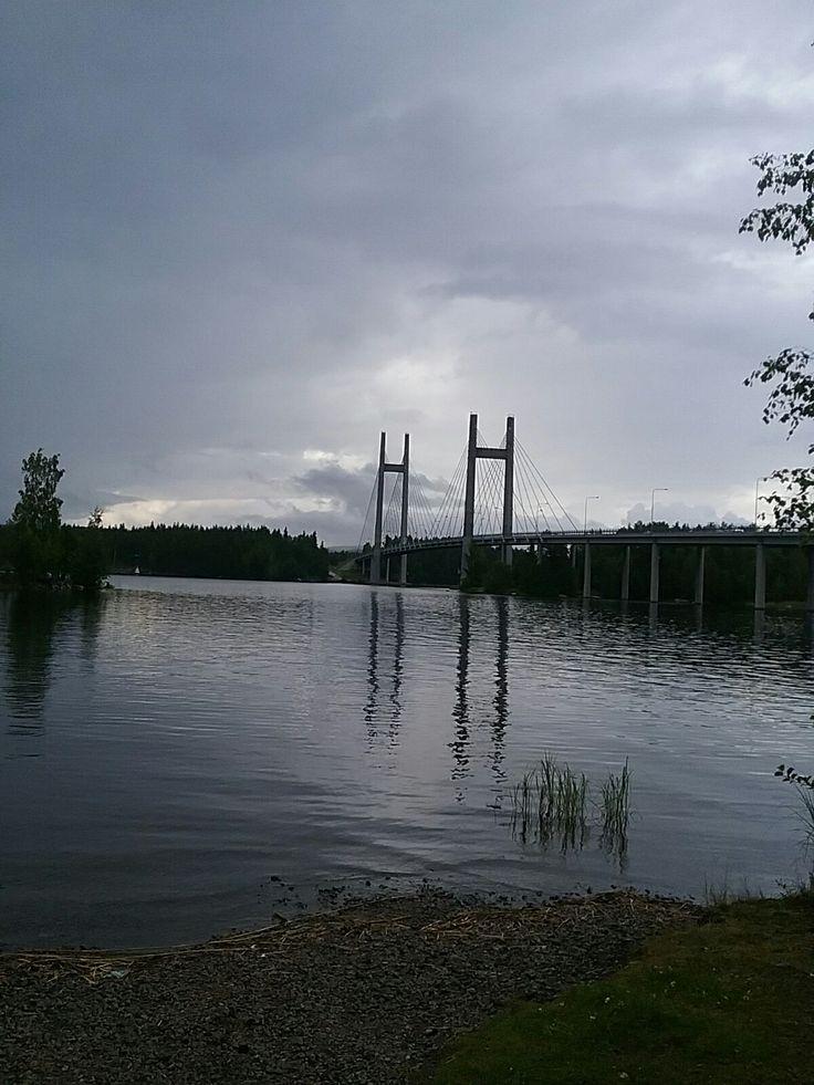 Kärkistensalmen silta Korpilahti-Joutsa