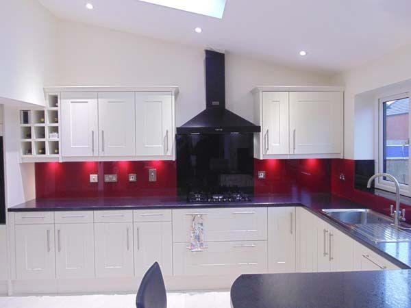 White Kitchen Red Splashback 27 best acrylic kitchen designs images on pinterest | kitchen