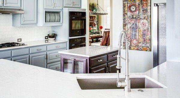 Blanco america meridian semi professional faucet kitchen for Kitchen design 6 x 8