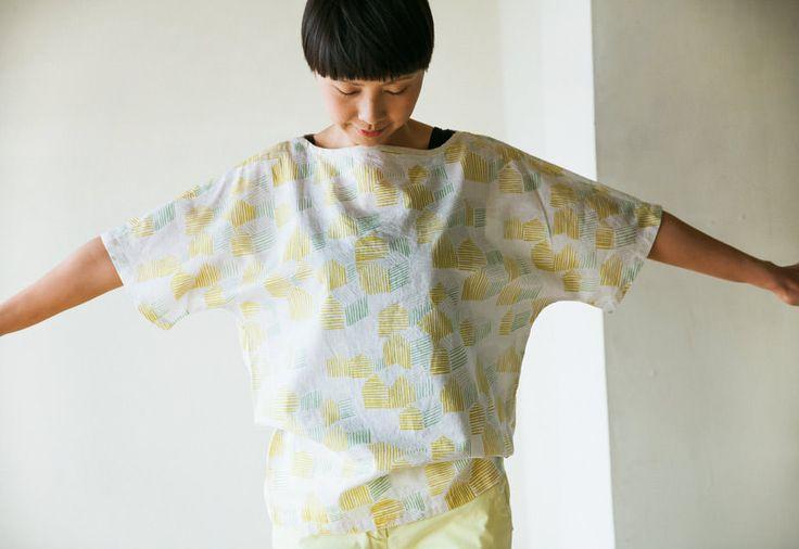 ドルマンスリーブブラウスの製図・型紙と作り方 | nunocoto fabric