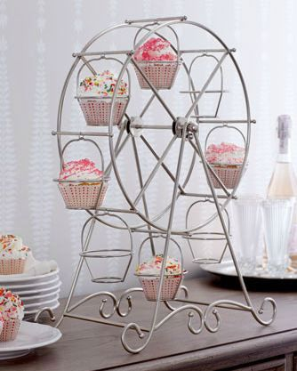 Cupcake Ferris Wheel cupcakes display ferriswheel
