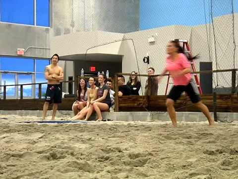 6-Pack Indoor Beach Volleyball in Richmond on The Express March 14, 2011 part 1