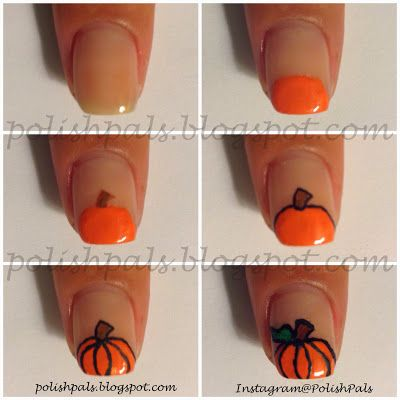 Polish Pals: Pumpkin Tutorial