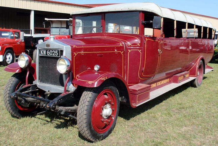 Tour Buses for Sale | Desert Classics...1926 Leyland Lioness Chara-Banc Convertible Coach ...