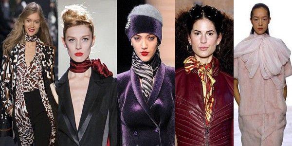 Sciarpe foulard boa donna moda e tendenze inverno 2014 progettisti offrono collezioni sciarpe donna alla moda con modelli semplici ma comunque interessanti e variegate.
